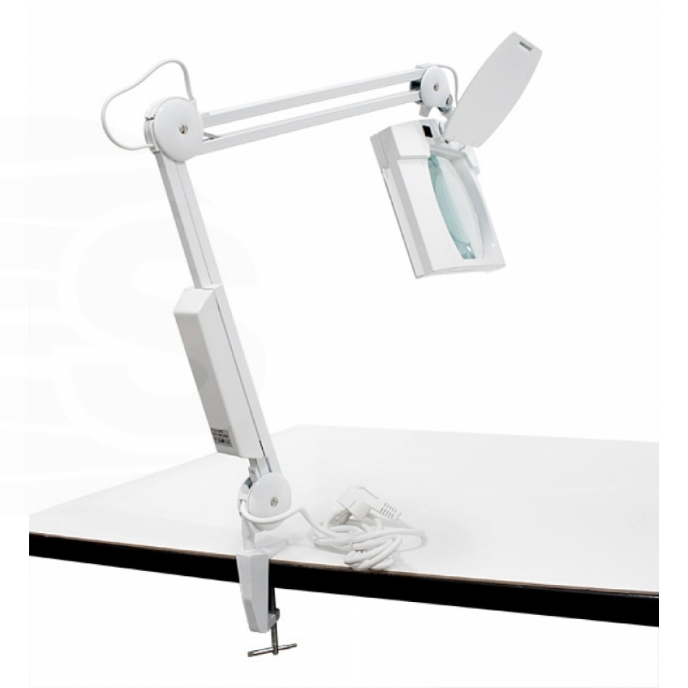 Lamp Rectangle magnifier with lighting