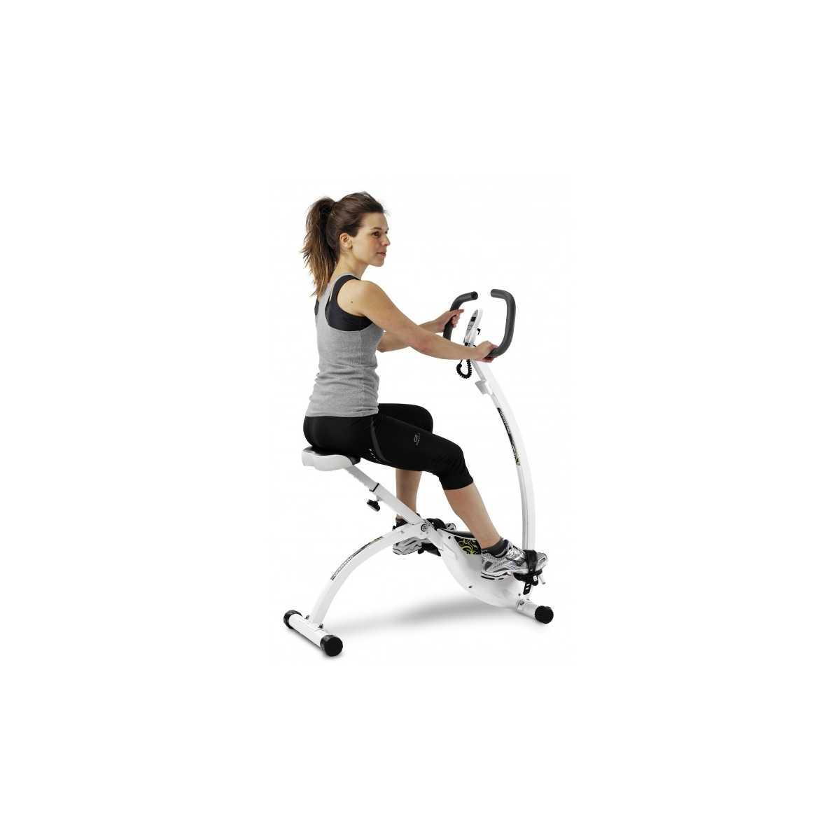 Bicicleta estática dobrável motorizada PowerBike