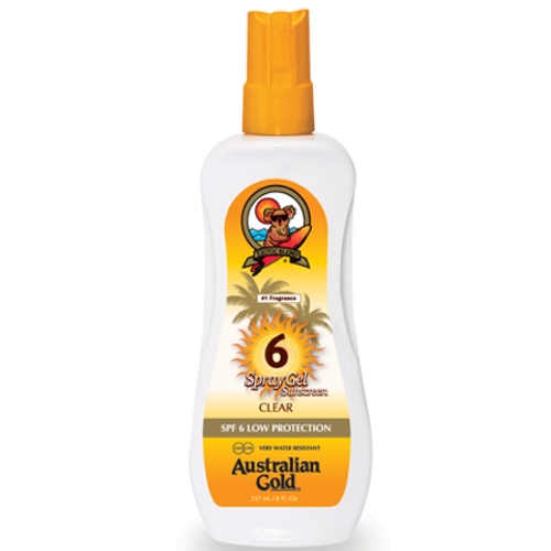 Australian Gold - SPF 6 Spray Gel
