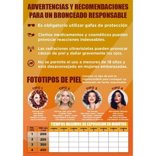 Cartaz Normativa RD 1002/2002 em Português