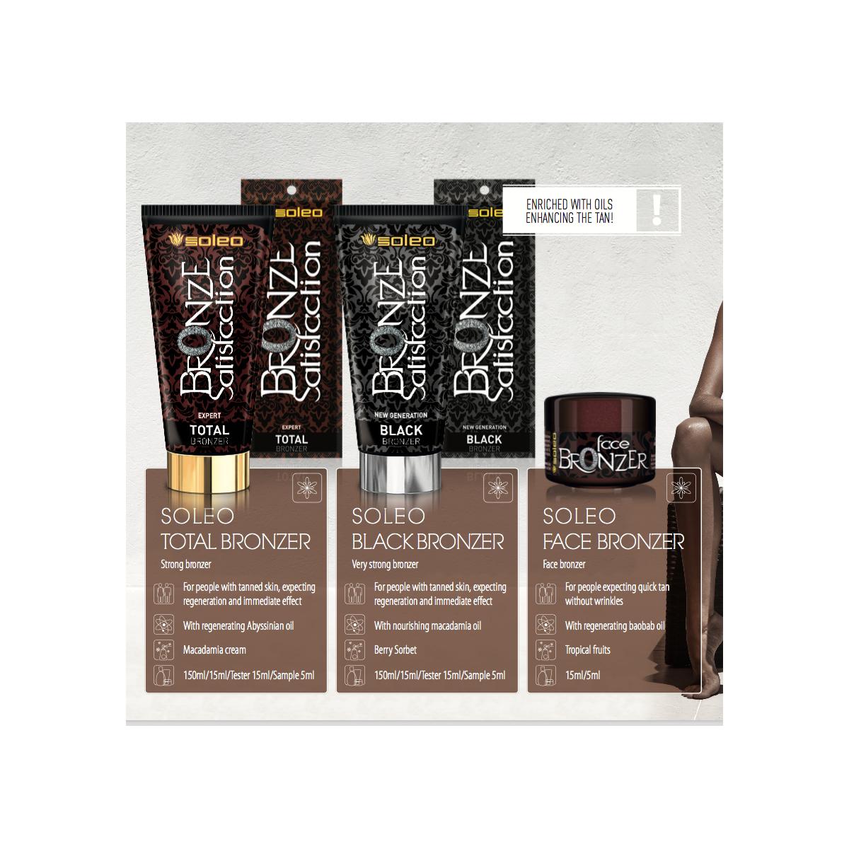 Bronze Satisfaction Black - Soleo