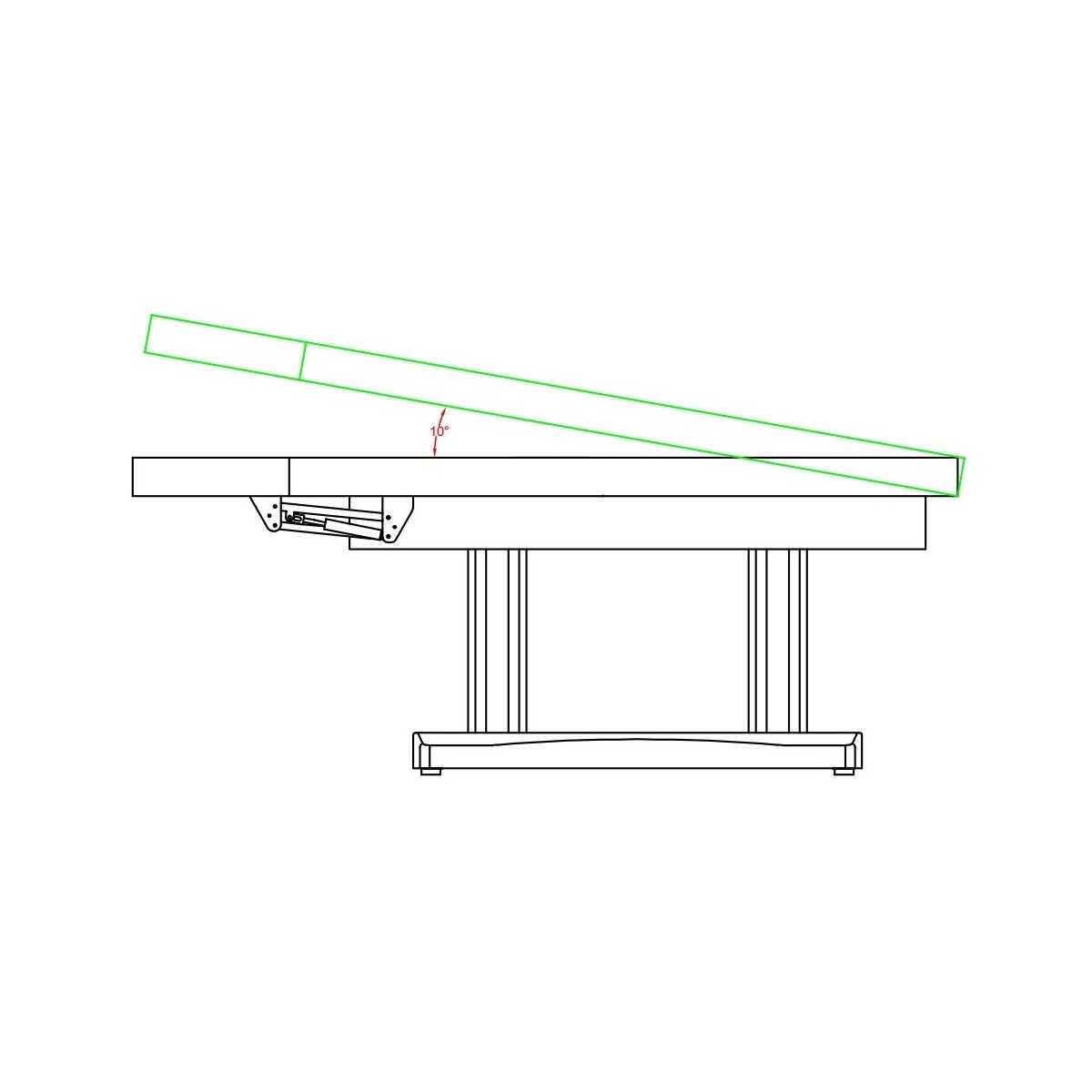 Stretcher Spa electric Optimal