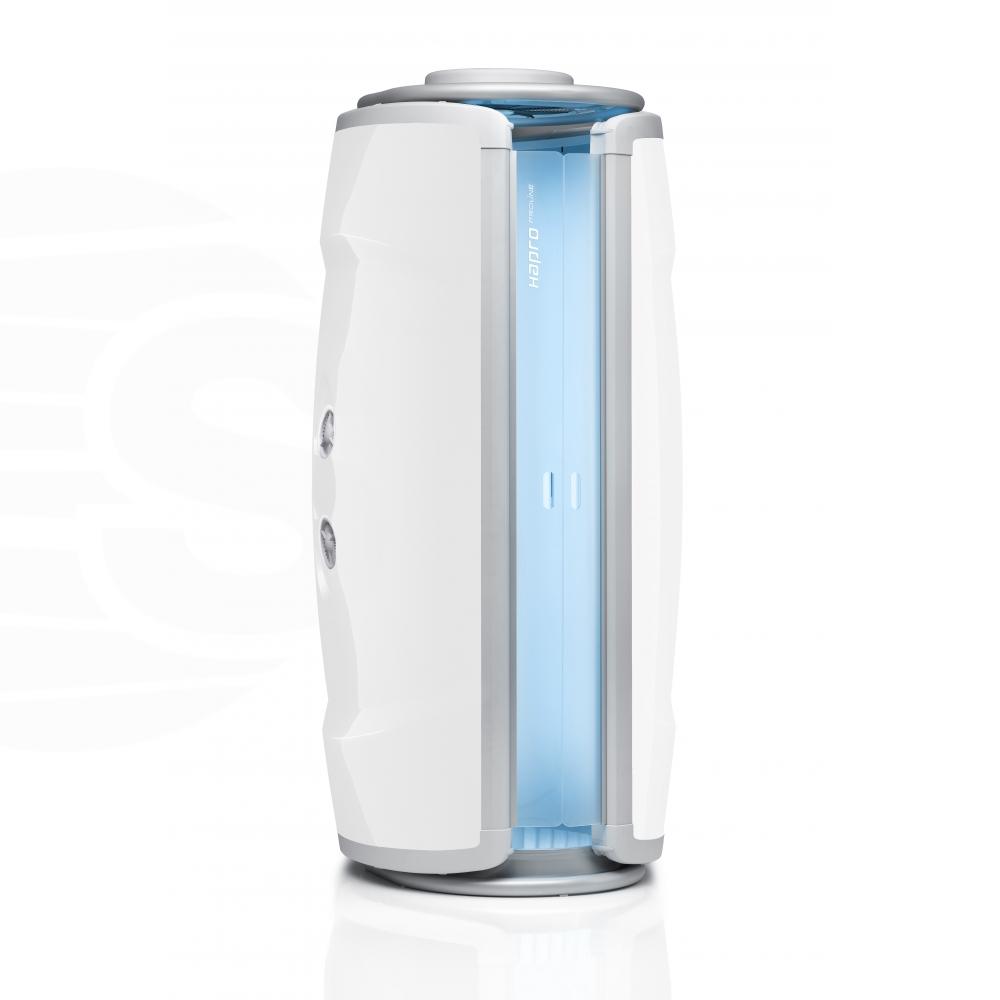 Solarium vertical Hapro Proline 28V Intensive White