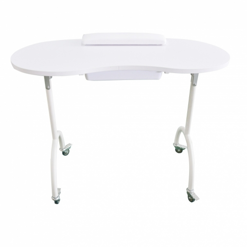 Table manicure portable with drawer - Furniture aesthetics - Weelko
