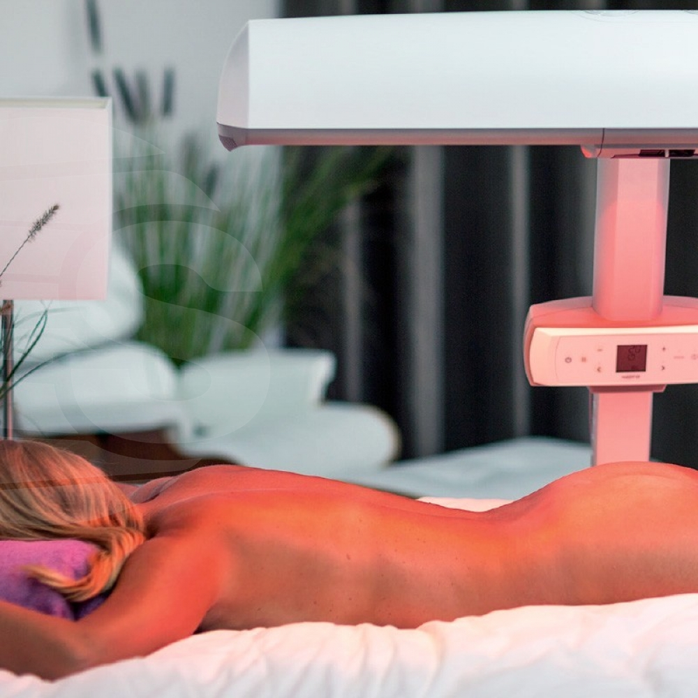 Hapro HP8580 Wellness Innergize Sunbed compact White - Home Tanning - Hapro