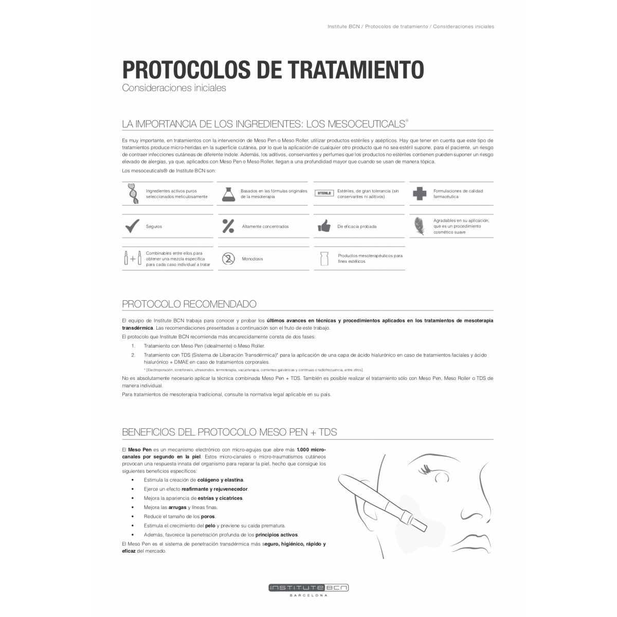 Fiale di acido ialuronico 2% - Principi attivi - Institute BCN