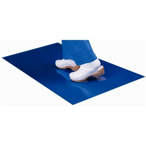 3x Carpet of decontamination bactericidal 90 x 60 cm Mat of 30 sheets for 30 days - Pack 3 months