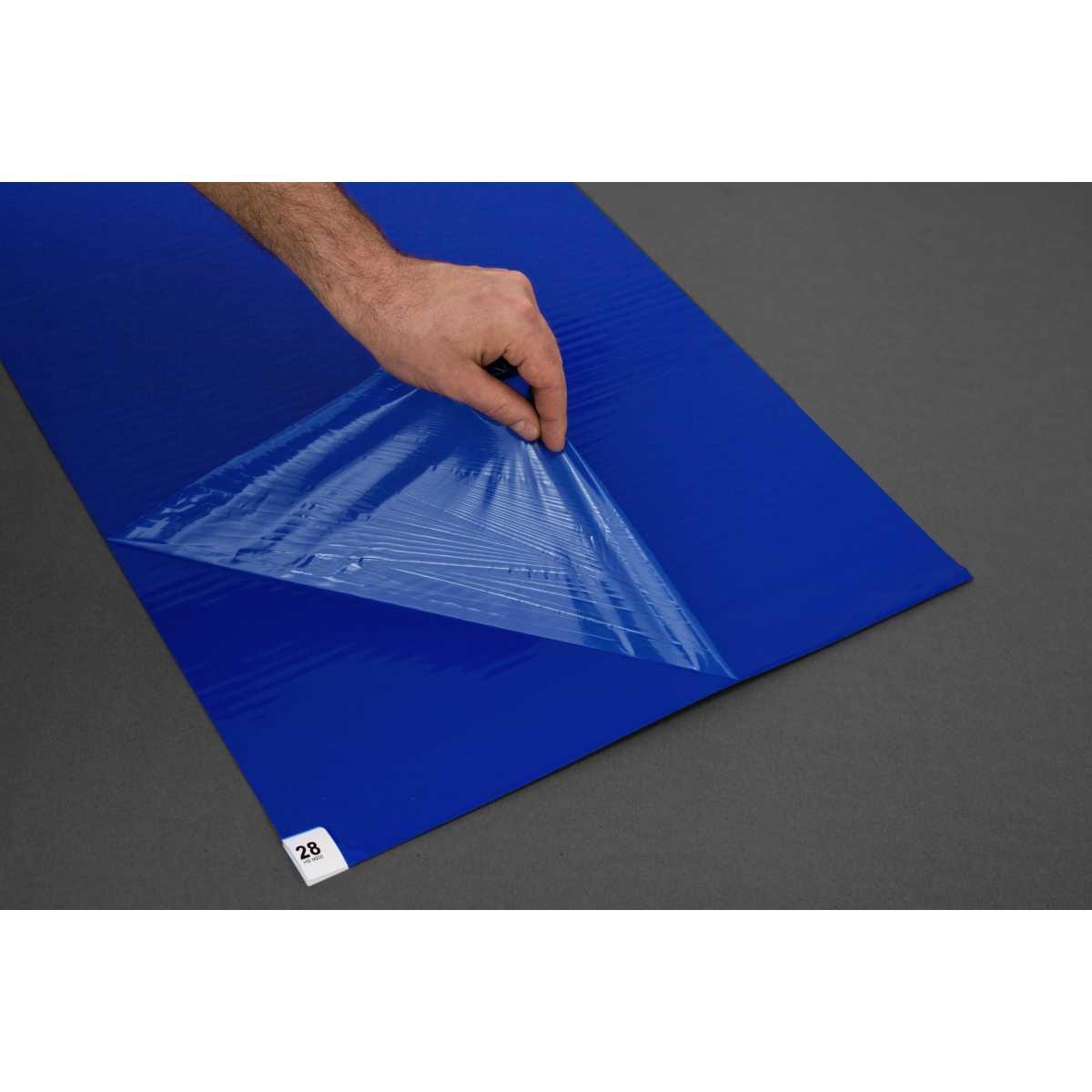 Carpet decontamination bactericidal 90 x 60 cm Mat of 30 sheets for 30 days