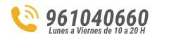 Llámanos 961040660